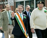 Westchester County Executive Rob Astorino at the Mt. Kisco St. Patrick's Day Parade