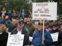 Veterans have been outspoken against any development plans at the VA Hospital in Montrose.