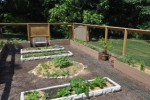 The Organic Garden for Healing at Hudson Valley Hospital Center.