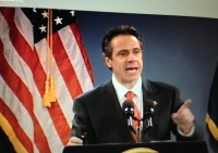 Governor Cuomo presented the State of the State address on January 9.