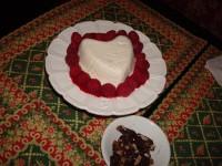 Decadent Valentine's Day Coeur a la Crème.