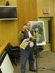 Pleasantville resident Anthony Suozzi spoke in favor of Pace's campus consolidation plan.