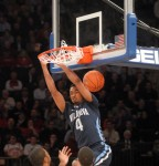 Villanova's Darrun Hilliard rushes and flushes in BIG EAST quarterfinal loss to Louisville last Thursday at Madison Square Garden.