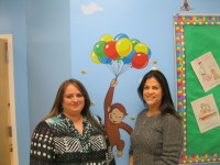 Photo caption: Educational Director and co-owner Christina Poggioreale of Yorktown, right, and co-owner and director Vanessa Raffaele of Montrose, opened the Little Learners of Westchester pre-school in Cortlandt on March 1.