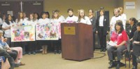Teachers from the PARC preschool program spoke about their concern for the children at the legislative forum on Saturday, March 23 at Putnam Hospital Center.
