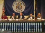 The Mount Kisco Village Board passed a $20.3 million budget for 2013-14.