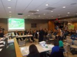 New Castle residents packed town hall Tuesday night to harshly criticize the Chappaqua Crossing retail plan.
