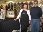 Carolyn and Paul DiLemme, owners of The Art Barn in Ossining