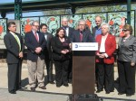 Officials from Metro-North, Peeksill and Cortlandt were joined by state and county at the Peekskill Metro-North station last week for a ribbon cutting ceremony.