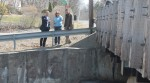 Congressman Sean Patrick Maloney (left) was given a tour of Lake Carmel Dam by Kent Supervisor