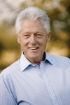 President Bill Clinton was presented with an honorary degree at Westchester Community College on Saturday.