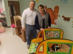 Mark and Beatrice Santora, co-owners of Little Garden Child Care Center.