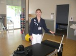 Yorktown resident Jill O'Flaherty is the site clinic supervisor for Burke Rehabilitation Hospital  in Somers.