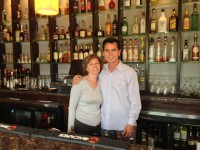 Domenick and Domenica Esposito at Esposito's Ristorante & Pizzeria on Mamaroneck Avenue in White Plains.