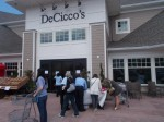 Crowds descended upon the new DeCicco Family Markets in Armonk on Friday.