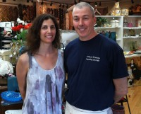 Ginny and Ken Ryan own Fro-Yo Fusion in Mahopac and Somers Custom Framing & Gift.