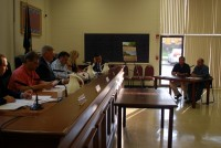 The Carmel Town Board received an update on construction of the parking lot at Sycamore Park on Wednesday.
