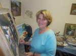 Know Your Neighbor: Peggy Davidson Post, Artist, Chappaqua