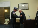Police Shield Awarded Decades Late to Longtime Mt. Kisco Resident