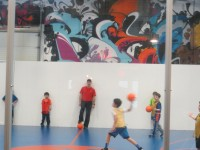 Children participate in a well-rounded workout at Fenom Fitness.