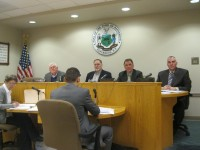 The Patterson Town Board at its Jan. 29 meeting.