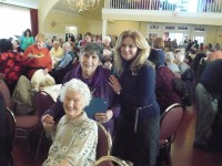 """MaryEllen Odell, Marie Zarcone, and Odell's grandmother Mae O'Brien all attended last week's """"Year of the Senior"""" luncheon event."""