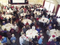 Seniors packed into Putnam County Golf Course last Wednesday. More than 300 seniors attended the event.