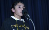 Harshita Shet, a fourth grade student, will travel to Washington DC in May to compete in the national spelling bee.