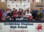 Stepinac Signing Day Distinguishes Nine Student/Athletes
