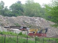 Gravel pile at the Harrison Quarry. Jon Craig Photo