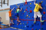 Furnace Woods Gets New Climbing Wall