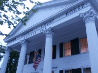 Putnam County's Historic Courthouse in 200 years old. The well known structure in Putnam was celebrated Thursday night.