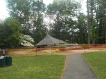 No. Castle to Rebuild Gazebo; Temporary Stage Obtained for Concert Series