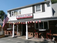 Triple B BBQ located in Brewster has been open for ten weeks so far. It is the former location of Zegarelli's Pizzeria that moved down the street.