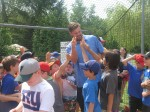 Mets Slugger Offers Advice to Young Players at Local Camp