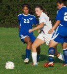 Harrison girls play well, but still fall to Horace Greeley, 3-2