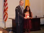 WPHS Senior Raina Kadavil Recognized as Youth of the Year 2014
