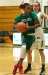 Woodlands girls hold on through two overtimes, deny Pleasantville, 71-65