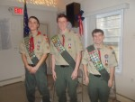 Hawthorne Troop Members Soar to Become New Eagle Scouts