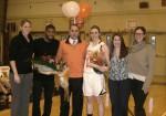 White Plains High School Boys and Girls Basketball Celebrate Senior Day