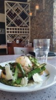 273 Kitchen's soft poached egg with Blooming Hill Farm asparagus and Tsatziki vinaigrette.