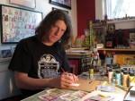 Know Your Neighbor: Jason Brower, Sketch Card Artist, Mt. Kisco