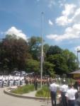 Mt. Pleasant Celebrates U.S. Army's Anniversary, Flag Day in Ceremony