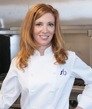 Sherry Blockinger, the owner and executive pastry chef of sherry b dessert studio.