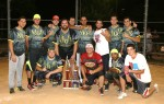 Mansion on Broadway Wins League and Playoff Men's Softball Championships