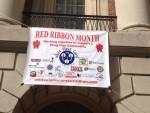 White Plains Kicks Off Red Ribbon Month