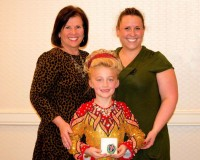 Photo caption: From left to right: Brewster's Kerry Kelly-Oster is the founder of the Kelly-Oster School of Irish Dance. Olivia Hoyt, a 7-year old-dancer, lives in Mahopac, and recently placed 17th at the Mid-Atlantic Oireachtas last weekend in the Girls Under 8 solo competition. Karyn Oster, director of the Kelly-Oster School of Irish Dance, lives in Brewster. Courtesy of Kelly-Oster School of Irish Dance