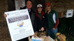 Pleasantville Lions Brave Heavy Rain to Hold Food Drive