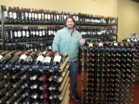 : Somers native Brian Moss opened Uncorked in Baldwin Place eight weeks ago. Photo credit: Neal Rentz