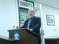 Resigned IDA chairman Richard Ruchala spoke at last week's committee meeting.